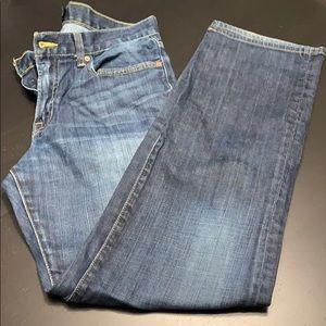 EUC Lucky Jeans Men's 31x32, Dark Wash